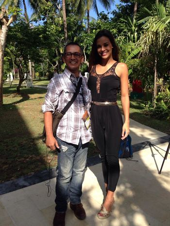 Miss World Avec Miss France 2013 Runner Up Miss World 2013 me with marine lorphelin