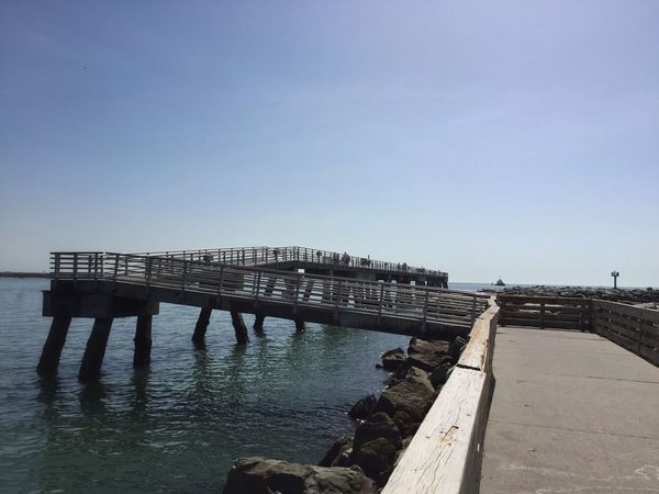 Fishing pier at Jetty Park Jetty Park Port Canaveral Canaveral Florida Fishing Pier