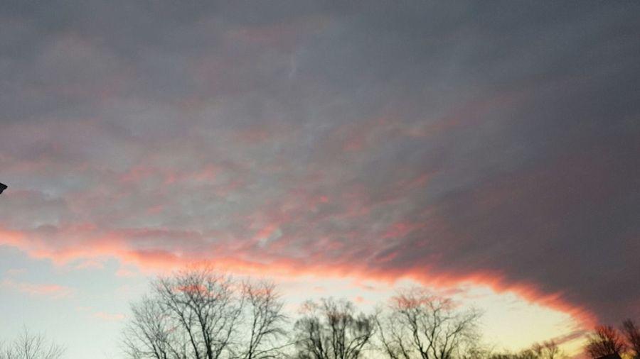Outdoors Sky Beauty In Nature Fresh On Eyeem  Iowa Dramatic Sky Sun Sunrise No Fillter Here! Nofilter Sunset Iowa
