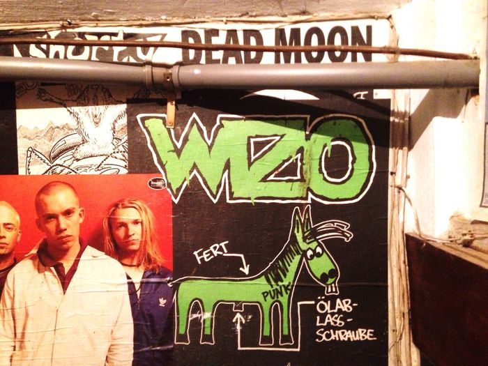 Poster Wizo Music Concert Horse Flyer No People Alternative Punk Pipe