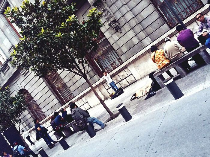 Parla più piano. Streetphotography Mexico City People Watching Music Violin Artist