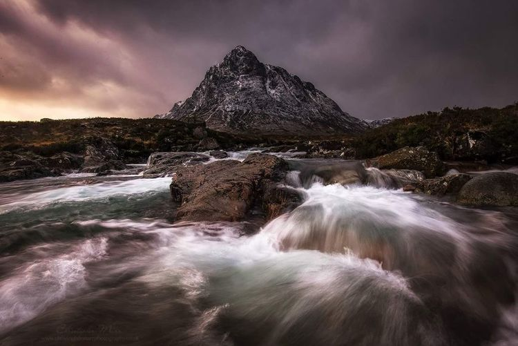 Glencoe, Buachaille Etive Mor Landscape Dramatic Sky Water Cloud - Sky Long Exposure No People EyeEm Best Shots - Nature EyeEm The Best Shots Scotland EyeEm Best Shots - Sunsets + Sunrise EyeEm Best Edits Landscape_Collection EyeEm Gallery EyeEmNewHere Sunlight Mountain Range Mountain_collection