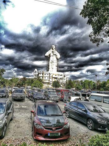Cloud - Sky Travel Destinations No People Storm Cloud Car Divine Mercy Shrine Blessed  Outdoors