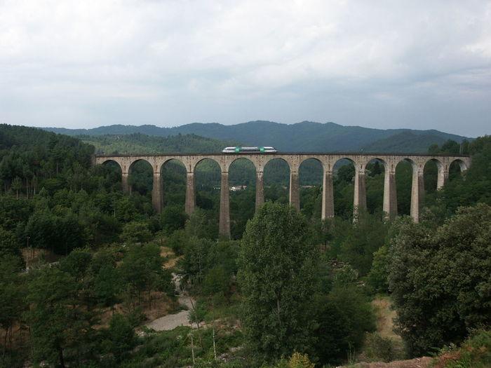 Cevennenbahn Chamborigaud Ligne Des Cevennes Viaduc De Luech