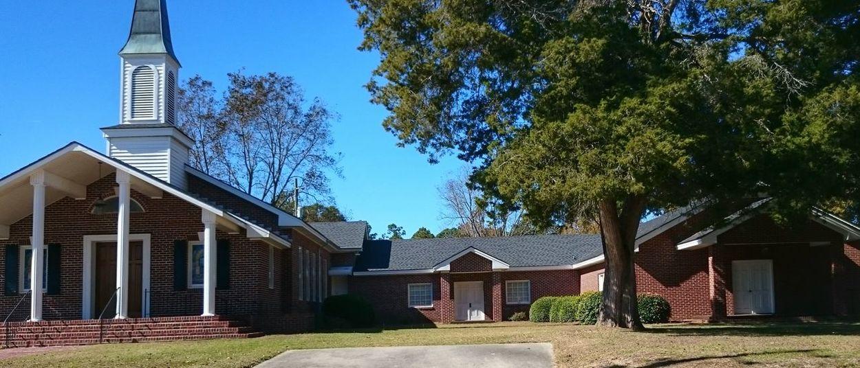Church Bellville, GA Georgia Small Town USA
