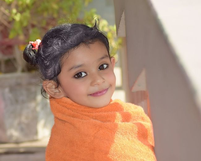 pari Portrait Child Childhood Smiling Girls Looking At Camera Happiness Cute Cheerful Headshot Eye Color Only Girls Anthropomorphic Smiley Face Eye Smiley Face Human Eye One Girl Only Blooming The Modern Professional