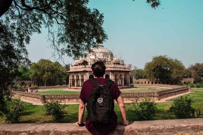Delhi's wonders India Delhi DelhiGram Delhidiaries Humayunstomb Ruins Landscapes People Travel Traveling Backgrounds Backpacking Wanderlust Wonder Indian Monument Garden