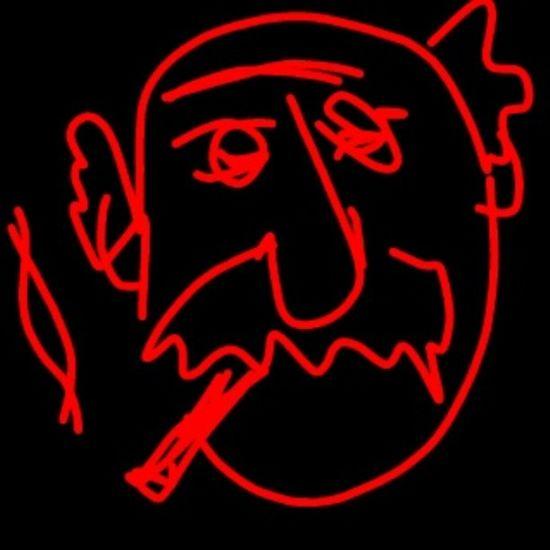 musketeer retired / Sketch Oldman Man Musketeer Old