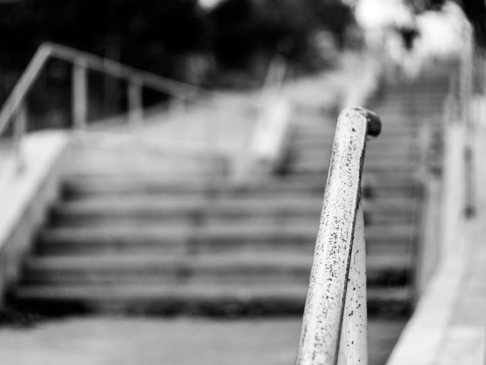 Blackandwhite Photography Bw Close-up Crimea,Russia Day Focus On Foreground Gawlet Handrail  Handrail Metal Industrial No People Outdoors Sevastopol' Stairs Steel-material Urban Urban Photography