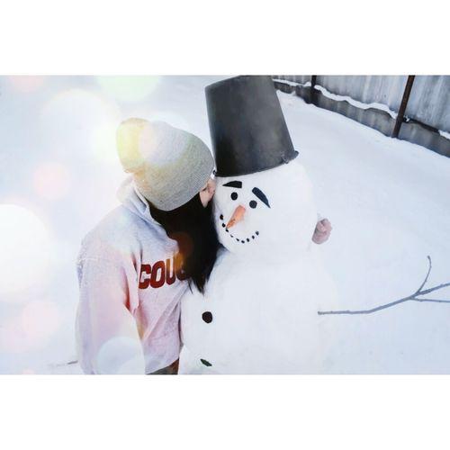 Hi! Taking Photos Enjoying Life My Snowman ⛄ I Made, I Happy Fannymoment Hello World Friendly Face