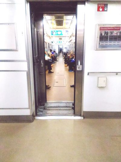 Train Train Station Train Tracks Mrt INDONESIA Jakarta Night Train