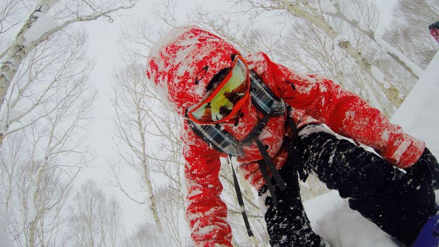 Snowboarding Niseko Japan Hokkaido