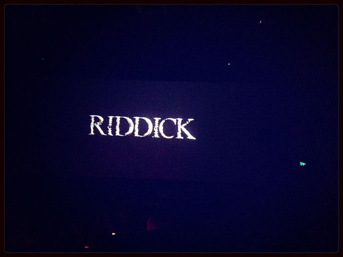Riddick ! As usual amazing Movie Enjoying The View Relaxing Movies MOVIE