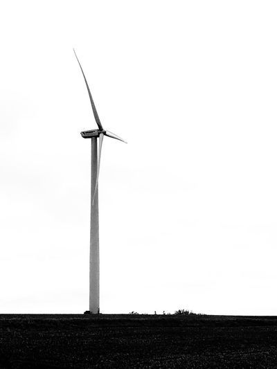 Iowa Black And White Fuel And Power Generation Wind Turbine Wind Power Low Angle View Outdoors Day Alternative Energy Windmill No People