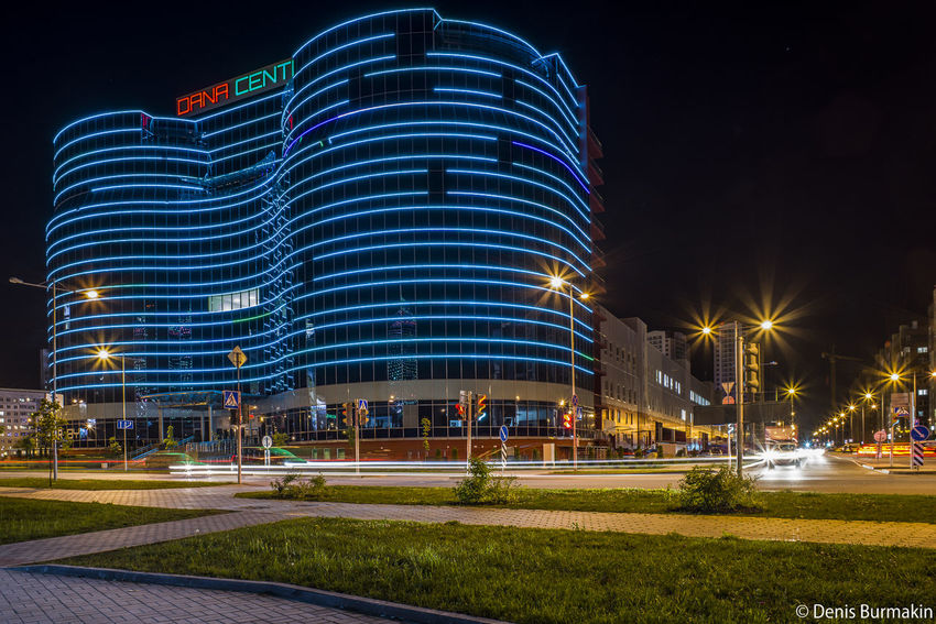 Architecture Minsk Minsk,Belarus PENTAX K-1 DenisBurmakin Arhitecture Hdrphotography Arhitecture Photography Hdr_Collection HDR Full Frame City Cityscape Illuminated Modern Skyscraper Water Urban Skyline Sky Architecture Building Exterior
