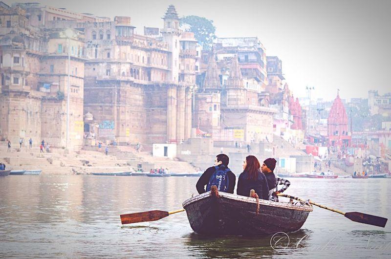 The Architect - 2016 EyeEm Awards Banaras Ghat India Boat Ganga River Holy Vibes Spiritual Old Buildings Travel Traveldiaries Placesinindia Travel Photography Landscape Tour Ride Varanasi People Of The Oceans