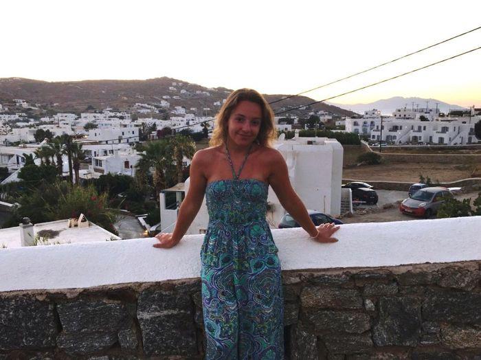 Greece Mykonos,Greece Ornosbeach Vacations Fashion EyeEmNewHere Cheerful Europe Let's Go. Together.