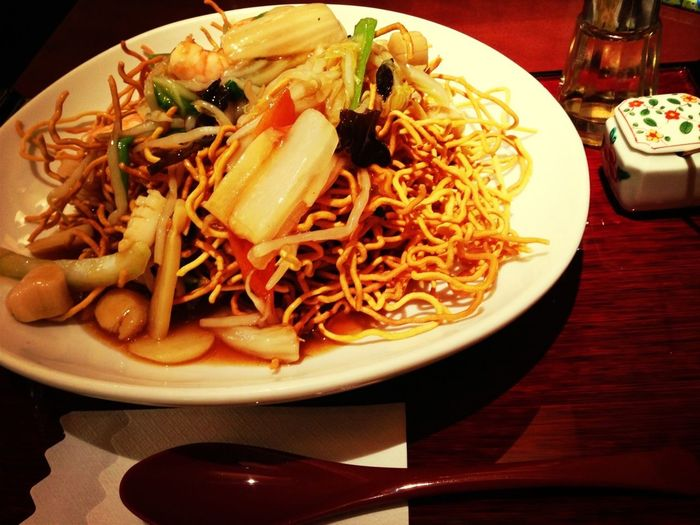Noodles Hong Kong Style Crispy Chow Mein