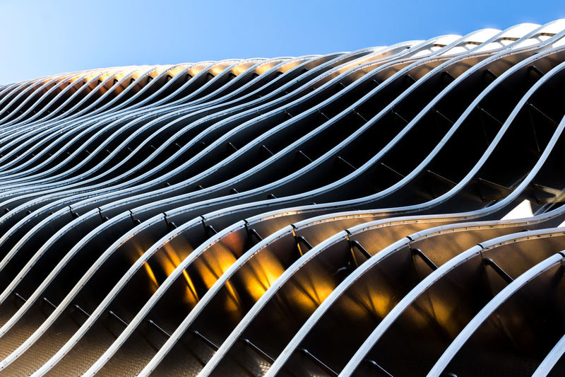 Architecture Abstract Building Building Exterior Built Structure Close-up Day Metal No People Outdoors Pattern Sky The Graphic City