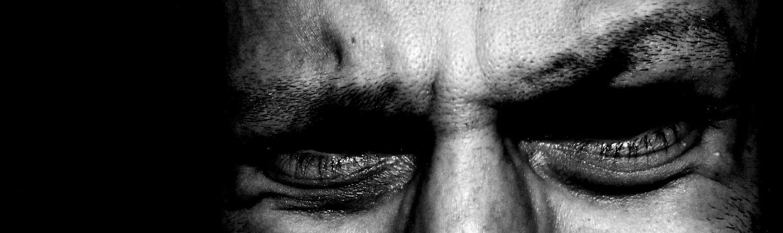 Dark Eyes Blackandwhite