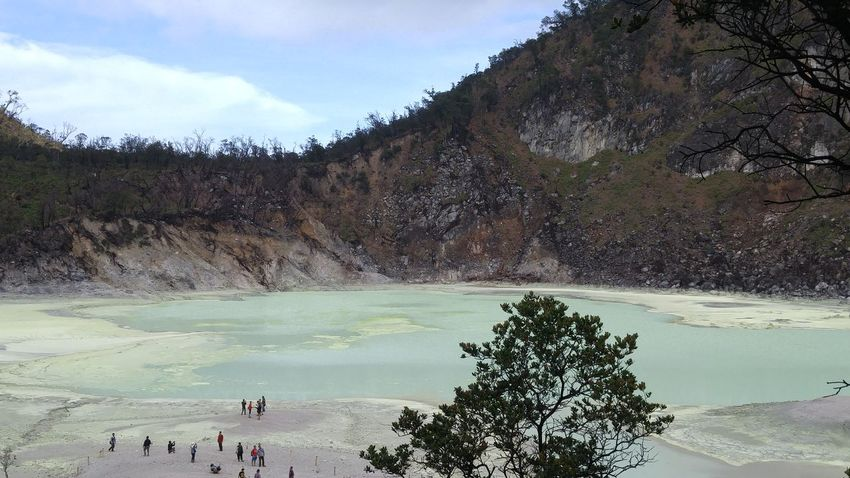 White Crater Bandung, West Java INDONESIA First Eyeem Photo