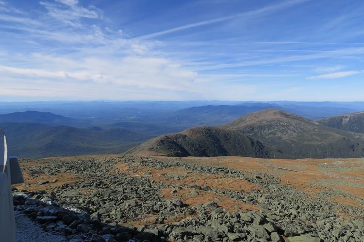 EyeEm Best Shots EyeEm Nature Lover EyeEmNewHere Mount Washington  Mountain View USA Beauty In Nature Blue Sky With Clouds Cloud - Sky Coq Railway Day Landscape Mount Washington State Park Mountain Mountain Range Nature New Hampshire No People Outdoors Physical Geography Scenics Sky Tranquil Scene Tranquility White Mountains
