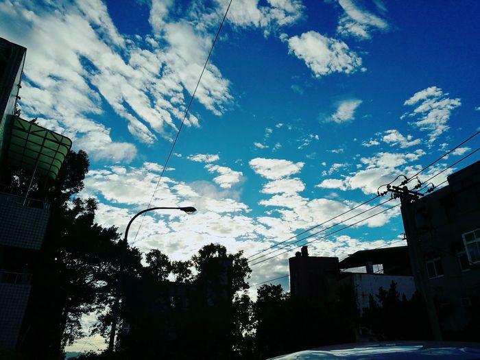 2016.12.20/ 4:16 p.m ❤❤ after school⛅⛅ Sky Cloud - Sky Skyscraper Nature After School. Taipei,Taiwan