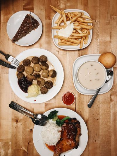 IPhoneography IPhone7Plus VSCO Food And Drink Food Freshness Plate Ready-to-eat High Angle View Table