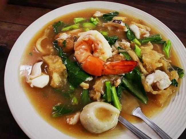 Thai Food Seafood Noodle Yummy