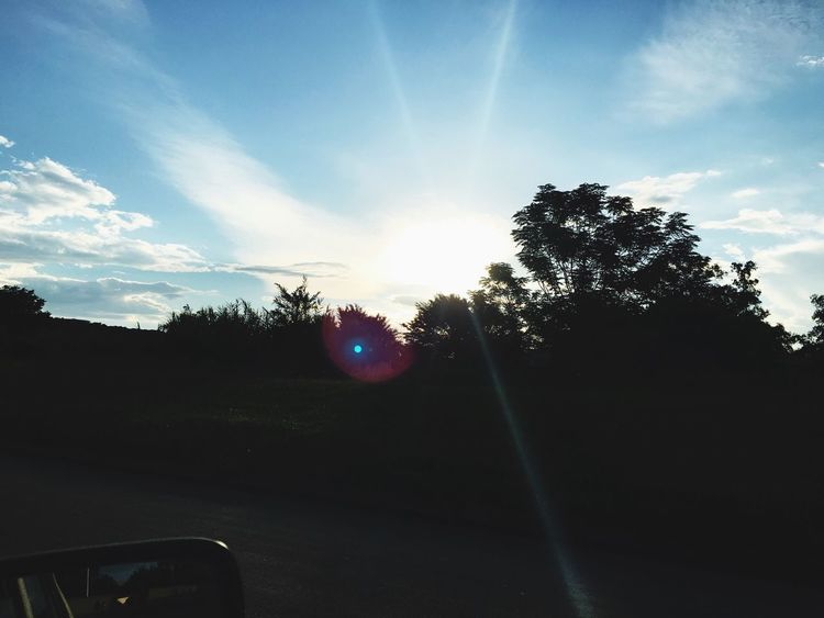 Homebound Sunset Phone Photography Beautiful Amazing Whenthesungoesdown
