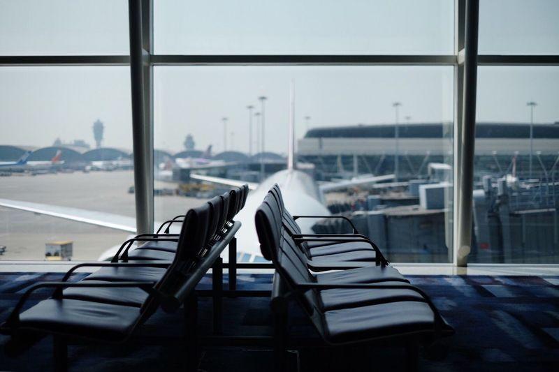 Airport Window
