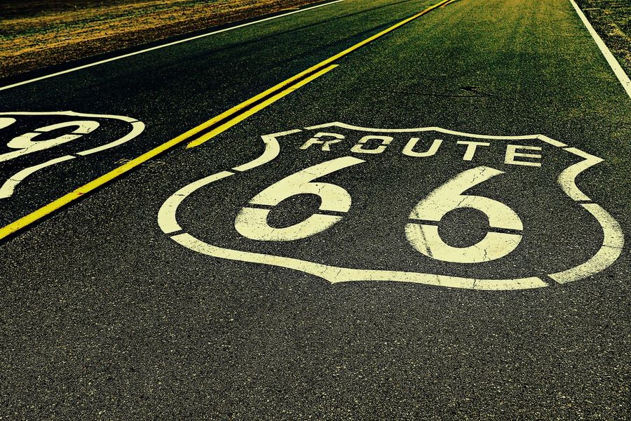 Route 66 American Historic Road America Black California Canon Eos 7D Mark2 High Angle View Historic Route 66 Holiday Low Angle View NEVADA, USA!♡ On The Road Road Marking Route 66 Seligman Route 66 AZ Shadow Stockphoto Street Travel Trip United States Us Route 66 USA USAtrip Western Script