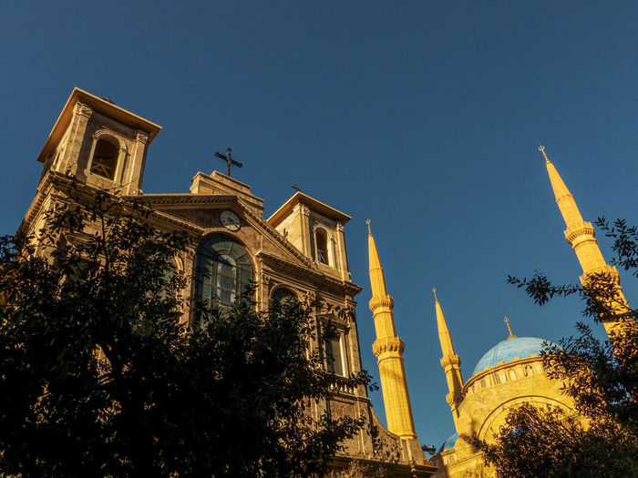 Coexistence - Beirut / Lebanon Beirut Church City Lebanon Liban Middle East Near East Beyrouth Mosque Religions EyeEmNewHere