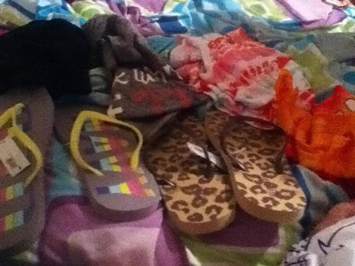 My Stuff From The Beach:)