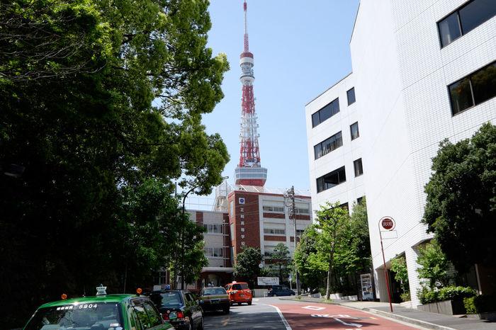東京タワーと正則高校 Architecture Building Fujifilm Fujifilm X-E2 Fujifilm_xseries Japan Japan Photography Tall - High Tokyo Tokyo Tower 日本 東京 東京タワー 東京塔