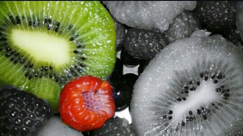 Mexico <3 First Eyeem Photo Kiwi <3 Frambuesa Fruta♥