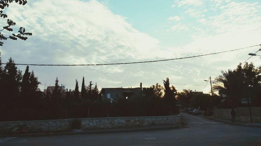 My morning in my neighborhood