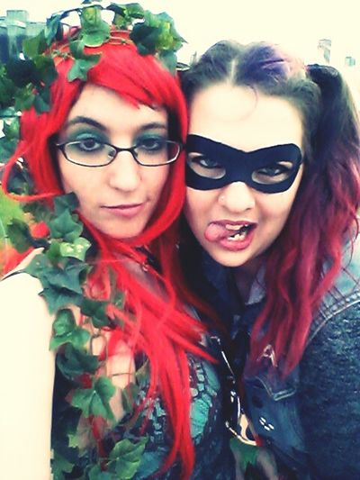 Chicago Harley Quinn Poison Ivy me n my girl walked around Chicago like this all day today. If you saw us, Hiiii! Todays Hot Look Looking Good