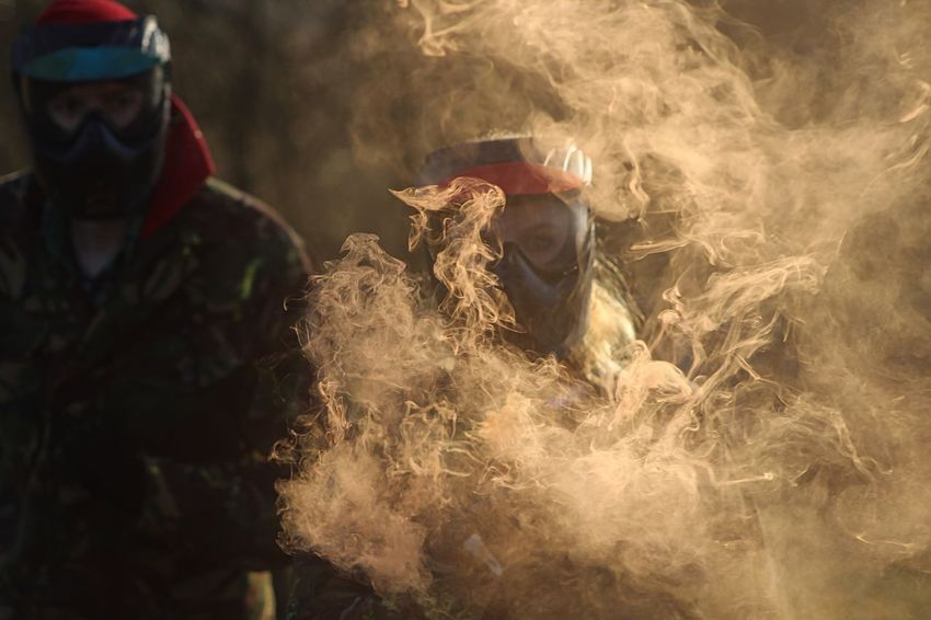 Smoke effect at Battlelands Paintball First Eyeem Photo