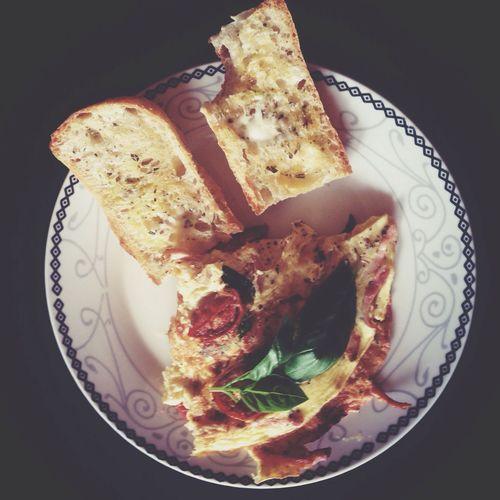 Italianfood Omelette Breakfast Morning looove making breakfast food ???