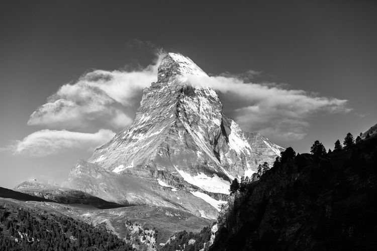 Encircled. Zermatt, Switzerland. Blackandwhite Blackandwhite Photography Eye4photography  EyeEm Best Shots EyeEm Gallery EyeEm Nature Lover EyeEmBestPics First Eyeem Photo Hiking Landscape_Collection Landscape_photography Matterhorn  Mountain Nature Outdoors Swiss Alps Switzerland Timeless Travel Travel Destinations Travel Photography Trekking Week On Eyeem Zermatt
