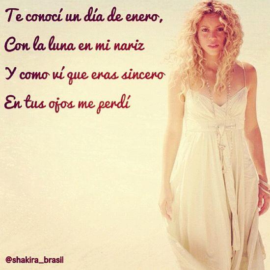 ShakiraLyrics - Día de Enero Shakirabrasil
