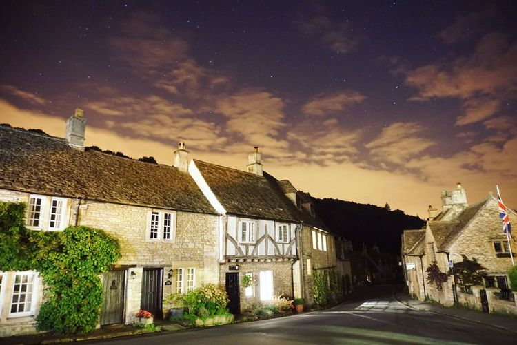 A very peaceful day at Castle Combe Castlecombe Ukvillage Night View Stars Architecture Ukarchitecture Sonycamera