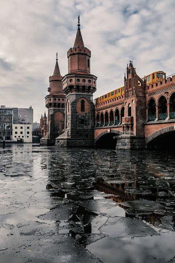 View Of Oberbaum Bridge In Berlin