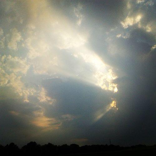 Sky Clouds Sun Sunset beautiful