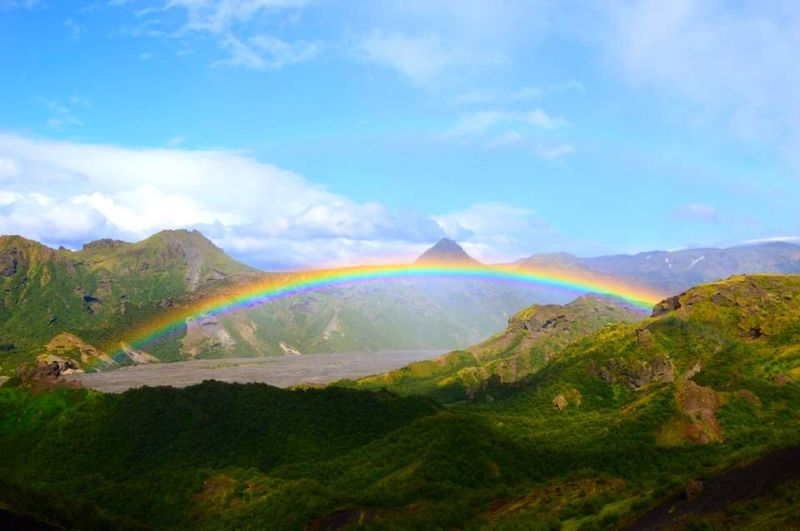 Rainbow Enjoying Life Dreaming Taking Photos Relaxing Sky Collection Colors Life Iceland Nature