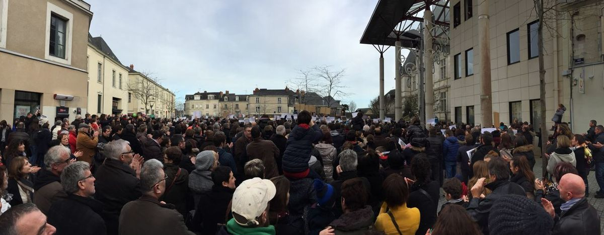 Noussommescharlie Nous Sommes Charlie Charlie Hebdo People People Photography From The Back