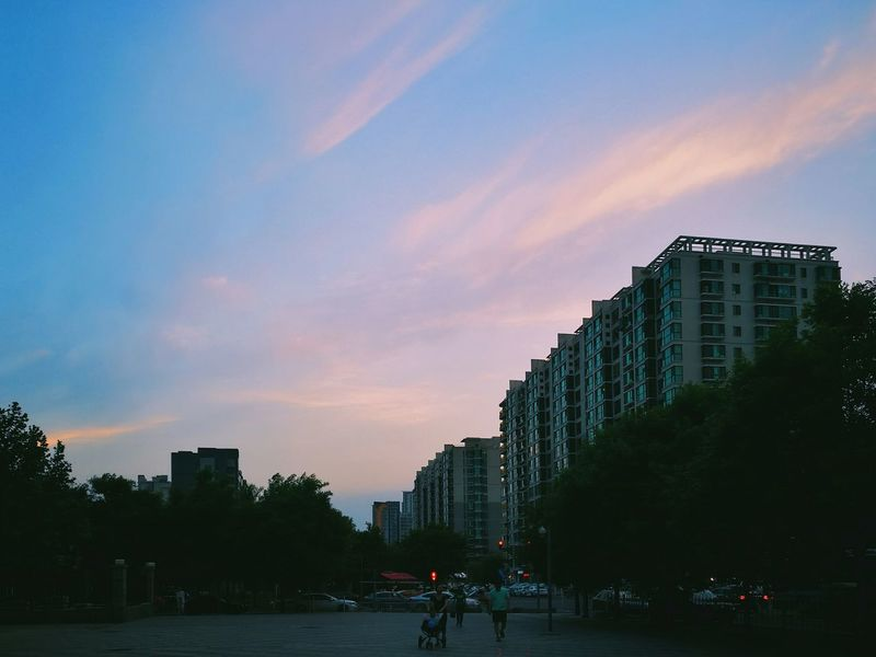 Dusk Dusk Sky Dusk In The City Dusk Colours Nightfall Sunset These Streets Belong To Me