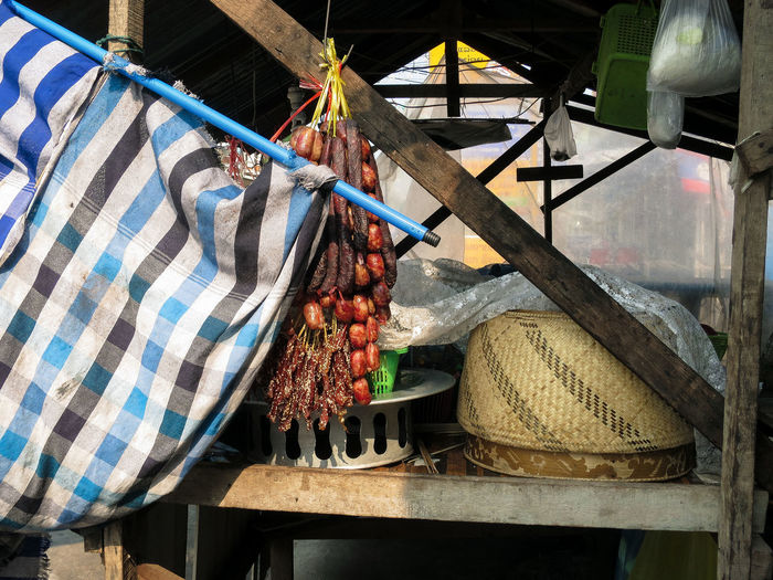 Dried food appeared on almost every corner in Laos... Day Details Drying Laos No People Outdoors Stall