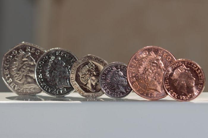 1 Pence 10 Pence 10p 1picaday 2 Pence 20 Pence 20p 2pac 5 Pence 50 Pence 50p 5panel Cash Change Loose Change Money Pennies Uk Money